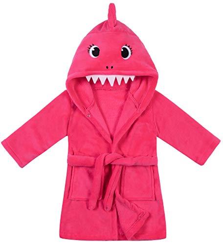 shark bathrobe toddler - 5