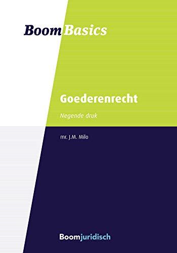 Boom Basics Goederenrecht (Dutch Edition)