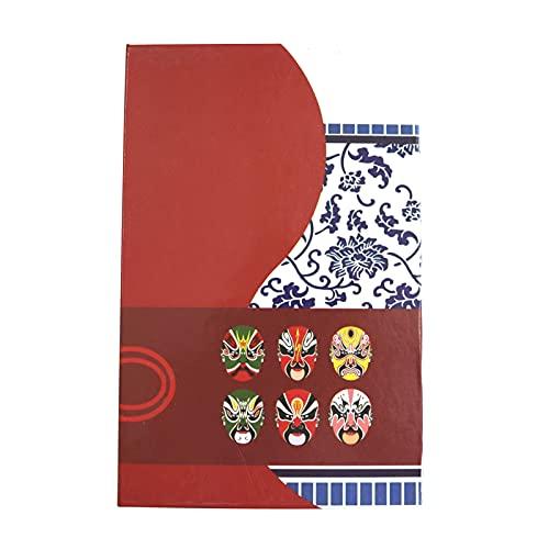 Alupre Safe, caja de almacenamiento para el hogar de estilo chino, libros de diccionario, dinero en efectivo, joyería, seguridad secreta(password)