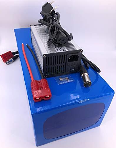 72V 40Ah 2880Wh Akkupack Pedelec E-Bike Scooter Lithium-Ionen Batterie Battery incl. 50A BMS + 4A Ladegerät