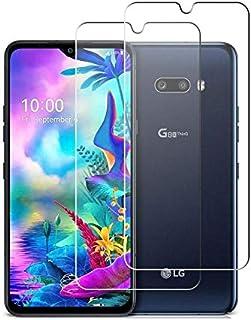 【2枚セット】LG G8X ThinQ ガラスフィルム【2021先端技術】LG G8X ThinQ 強化ガラス保護フィルム 9Dラウンドエッジ加工 全面保護ガラスフィルム 液晶 画面 滑らか 感度 良好 完全な表面保護 9H硬度 耐衝撃 指紋防...