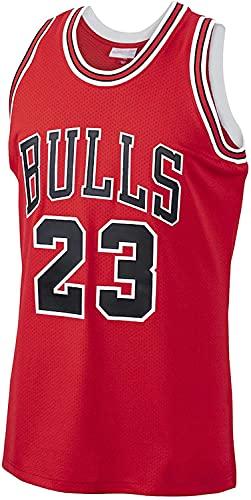 Bûlls 23 # Jórdan - Camiseta de baloncesto retro con bordado de malla sin mangas, multicolor (tamaño: /XL, color: G2)