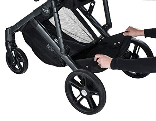 Britax B-Ready G3 Stroller, Pistachio Britax Versatile design, no flat rubber tires, and double seating with the same mobility as a single stroller Quick fold with 1 or 2 seats attached; 12 seating options when paired with the B Ready Bassinet, Britax Infant Car Seats, or B Ready Second Seat (all sold separately) Travel System ready: compatible with all Britax and BOB infant car seats 6
