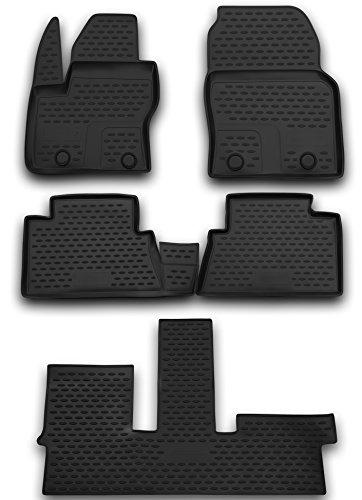AD Tuning FM13012 Passform Gummifußmatten (5-teilig), schwarz