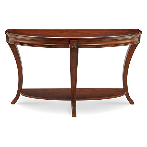 Magnussen Winslet Demilune Sofa Table, 29' x 50' x 19'