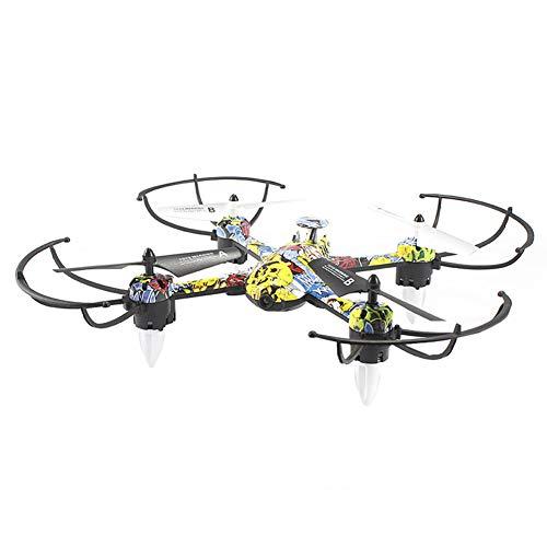 4-assige vliegtuig WiFi FPV HD-camera, drone met camera voor volwassenen, 3D flip / headless-modus / bediening met één knop / ingebouwde gyroscoop met 6 assen, is de beste drone voor beginners,Graffiti,720P camera