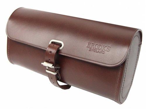 Brooks Challenge Large Leder Satteltasche 1,5l Werkzeug Tasche, Farbe braun