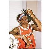 nr Travis Scott Hip Hop Rap Musik Sänger Star Silk Poster