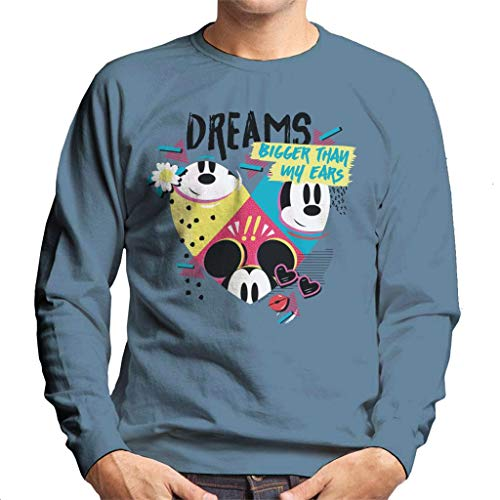 Disney Mickey Mouse Dreams Bigger Than My Ears heren sweatshirt