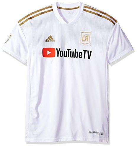 adidas Jrsy SS M MLS - Camiseta de Manga Corta para Hombre, Talla XXL, Color Blanco