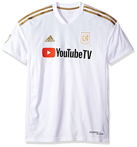 adidas Men's Replica Jersey, White, Large
