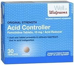 Walgreens Famotidine 10Mg Tablets, 30 ea by Walgreens
