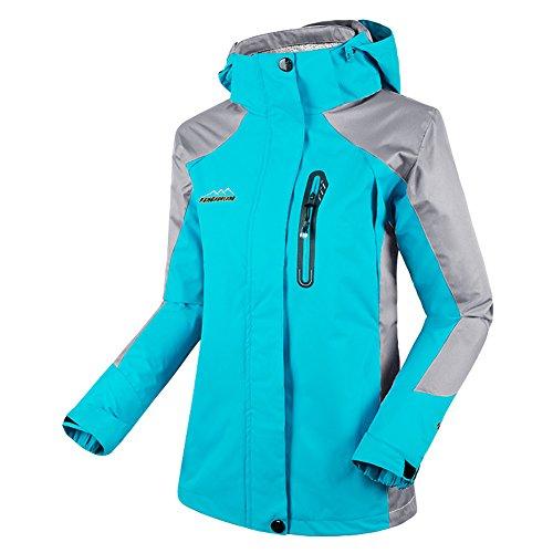 Diamond Candy women's Sportswear Hooded Outdoor Softshell Waterproof Jacket