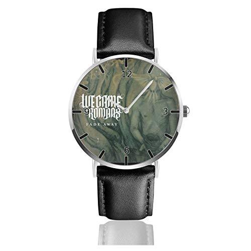 Orologio sportivo classico 38mm Viaggi sportivi Watch Siamo venuti come romani Timer polso minimalista impermeabile alla moda PU Strap