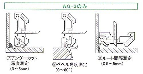 新潟精機 SK 溶接ゲージ WG-3