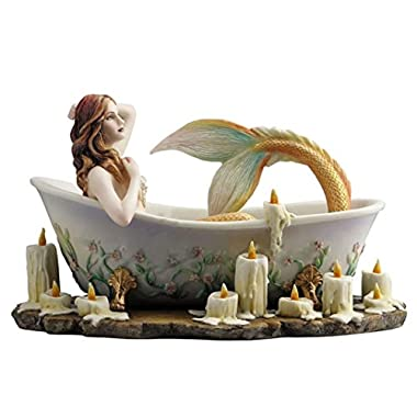 8.5  BATHTIME By Selina Fenech Mermaid Fantasy Nautical Decor Statue Sculpture