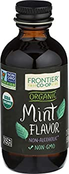 Frontier Co-op Organic Mint Flavor 2 Ounce Bottle Kosher