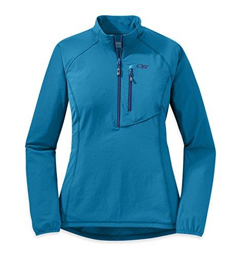 הסתיים - מיקרו פליז צבע תכלת Outdoor Research Women's Ferrosi Wind Shirt מידה XS ב-35 דולר | 114 שח כולל משלוח