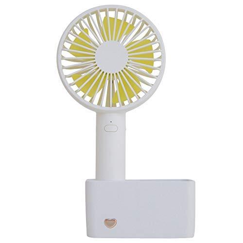 JINKEBIN Fan de USB de USB portátil que carga Compatible with los titulares Pequeño lápiz Compatible with oficina gadgets de escritorio eléctrico del escritorio pequeño ventilador del refrigerador del