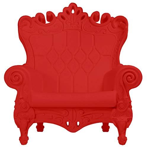 Slide - Design of Love Queen of Love Poltrona Rosso fiamma