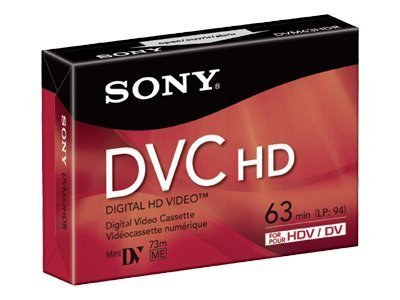 Best Price! Sony DVM 63HDR - High Definition - Mini DV tape - 1 x 63min (DVM63HDR) -