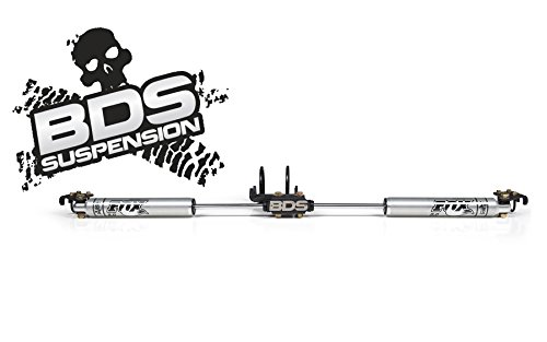 BDS BDS55380 Fox 2.0 Dual Steering Stabilizer fits 17-19 F250 F350