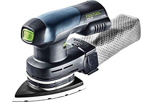 Festool Akku-Deltaschleifer DTSC 400 Li-Basic Herstellernr. 201526, 18 V, schwarz/grün, M