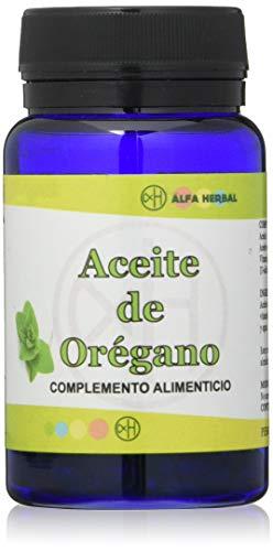 Alfa Herbal Oregano Olie 60 parels 100 g
