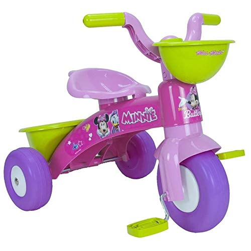 INJUSA - Dreirad Baby Trico Minnie Mouse Disney Kinder, rosa (3531)