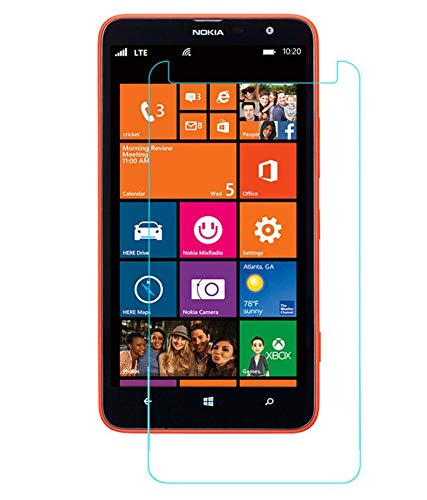 Timbu Edge to Edge Hammer proof screen guard 9H Hardness Anti Fingerprint Anti Glare 033mm HD+ view Crystal Clear Precusely Engineered Tempered Glass for Nokia Lumia 1320