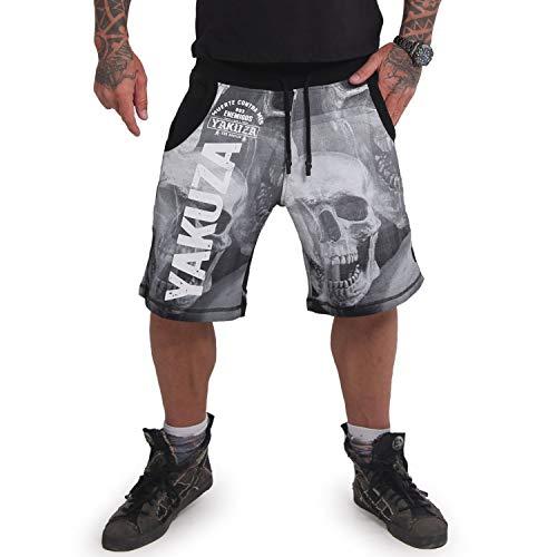 Yakuza Herren Muerte Skull Sweat Shorts