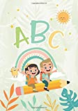 ABC Learning letters is easy - Alphabet - Cursive Handwriting Workbook for Kids: 4+ Pre Schoolers