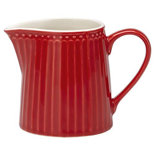 Porzellan-Milchkännchen, Alice Red von GREENGATE