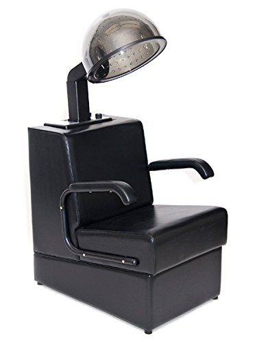 BR Beauty Kate Professional Hair Dryer Chair with Dryer Combination for Salons, Heavy Duty Wood Frame, 980 Watt Salon Hair Dryer, 31 Inches High, 23.5 Inches Wide, 30.5 Inches Deep, OD-431HL-1500