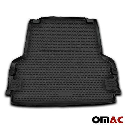 OMAC GmbH Kofferraumwanne Antirutschmatte Gummi Allwetter schwarz fahrzeugspezifisch f/ür Amarok ab 2010
