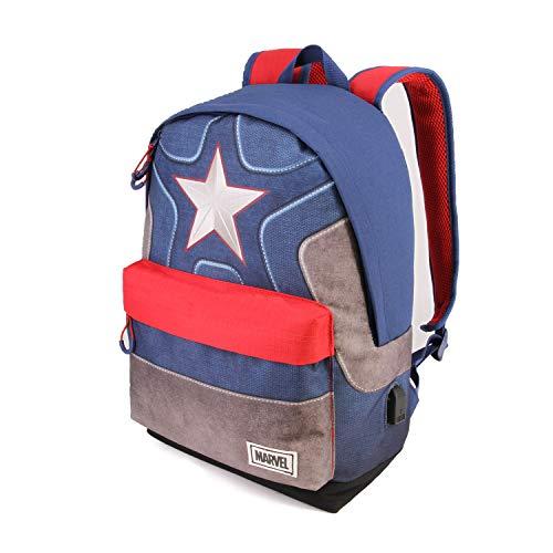 Capitán América Suit Mochila HS