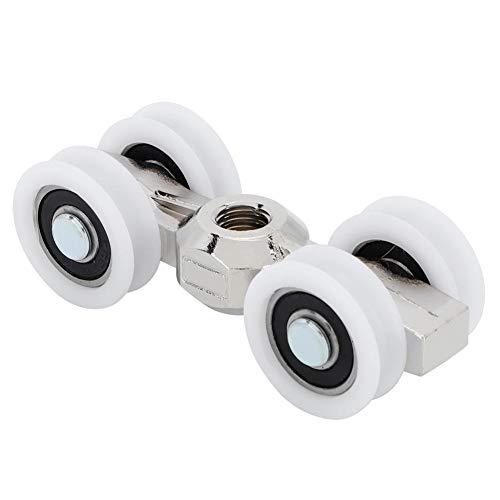 Samfox Deur Roller, Schuifdeur Roller 4 Wielen Hangende Wielen Slider Overhead Deur Rollers Lagers
