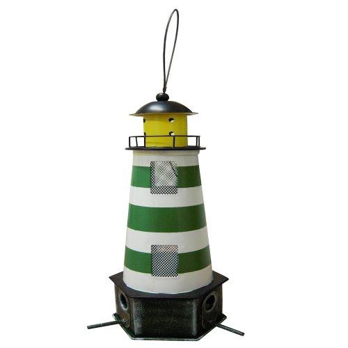 Habau 1787 Futtersilo Leuchtturm grün
