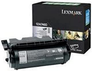 Lexmark 12A7460 T630 T632 T634 X630 X632 X634 Toner Cartridge (Black) in Retail Packaging