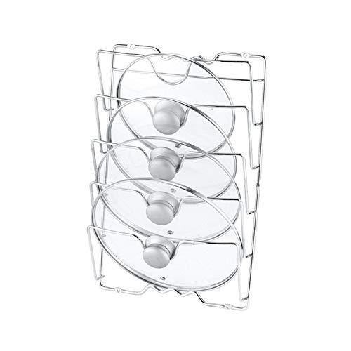 hgkl Cuchara Resto 5 Capa Anti-caída Herramienta de la Cocina Mano de la Mama Metal Secado Pan Estante del pote Tapa Tapa Resto Soporte Cuchara Holder (Color : 5 Layer)