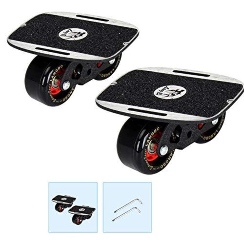 Lowest Prices! LLQQ Drift Board Adult Beginner Small Drifting Skateboard Campus Portable 4 Wheel Tra...