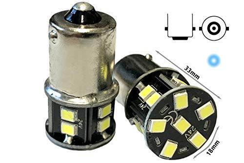 24 V LED-lamp BA15S G18 R5W koudwit 16 SMD 2835 voeten nee Polaris 360 graden levensduur gegarandeerd