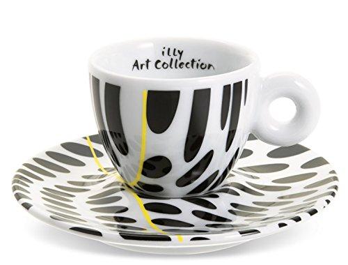 illy Tobias Rehberger art collection juego de 6 tazas de café