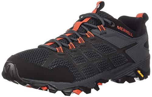 Merrell Men's Moab FST 2 Hiking Shoe, Black/Granite, 07.5 M US