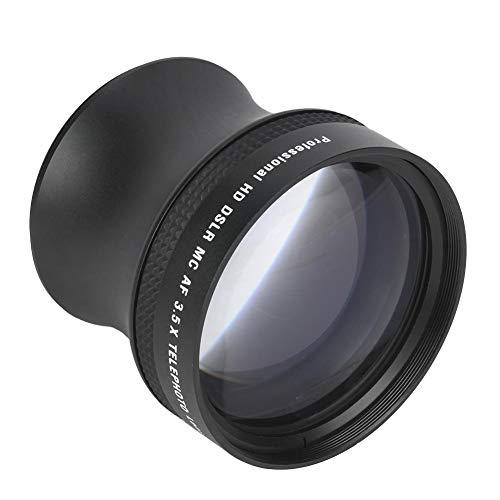 3.5X Telekonverter, Teleobjektiv mit Mehrfachbeschichtungskamera, optisches Glas-Teleobjektiv aus Aluminiumlegierung, für alle Kameras mit 58-mm-Halterung