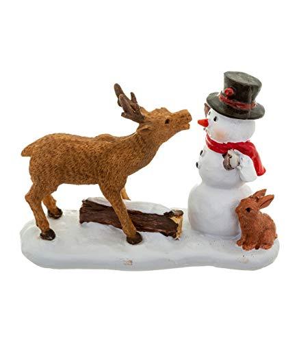 FEERIC CHRISTMAS - Accessoire pour Village de noël Sujet de Noël Santon pour Village de Noël