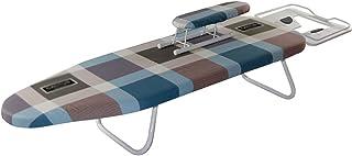 LXYA Planche De Repassage De Table De Table avec Couverture en Coton Amovible/Lavable, Repose-Fer À Repasser De Sécurité, ...