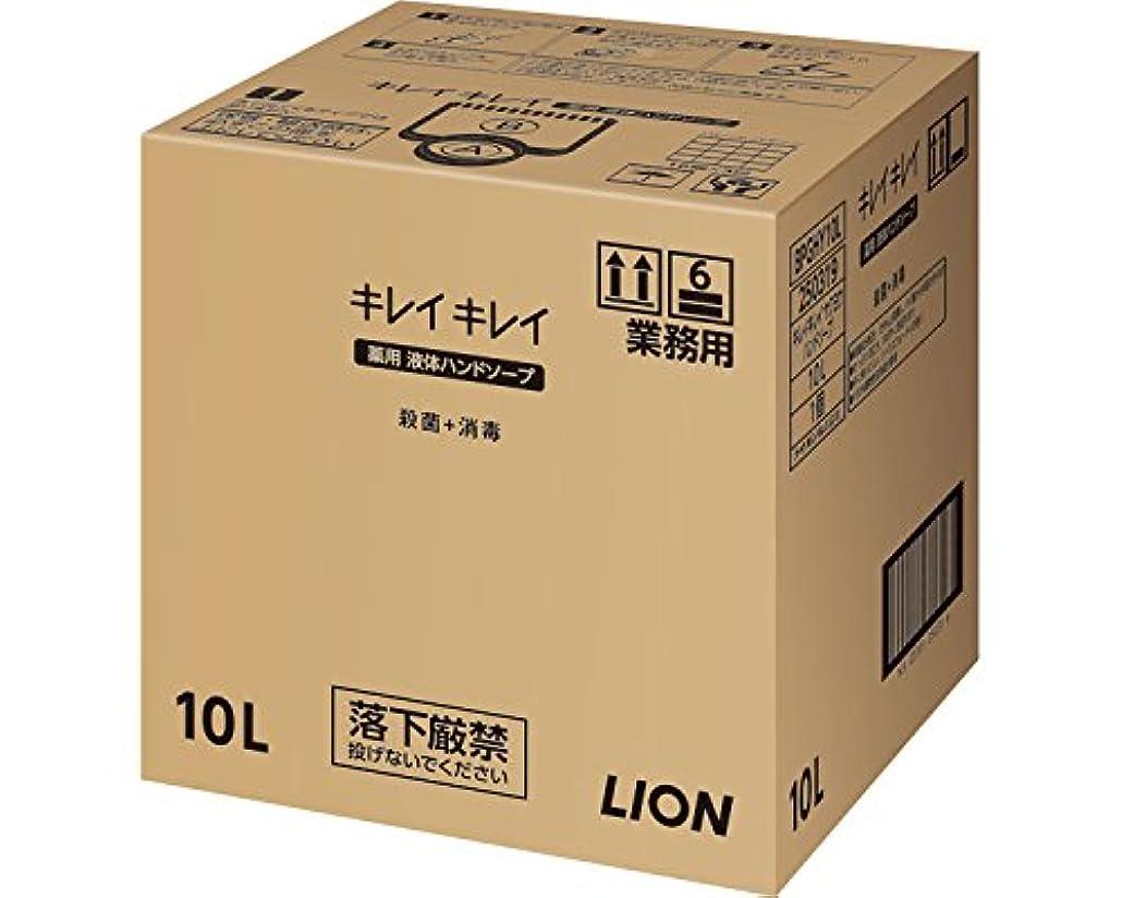 耳オフセット何かキレイキレイ薬用ハンドソープ 10L (ライオンハイジーン) (清拭小物)
