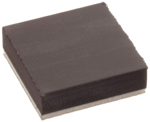 High Energy Flexible Magnet Squares With Foam Adhesive, 3/16' Thick, 3/4' Wide, 3/4' Length (Pack of 6)