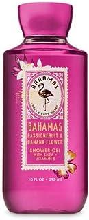 【Bath&Body Works/バス&ボディワークス】 シャワージェル バハマ ピンクパッションフルーツ&バナナフラワー Shower Gel Bahamas Pink Passionfruit & Banana Flower 10 fl oz / 295 mL [並行輸入品]